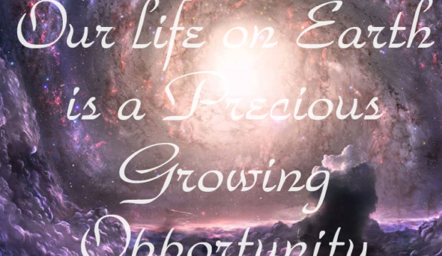 Our Life on Earth is a Precious Growing Opportunity – Glynis Brits