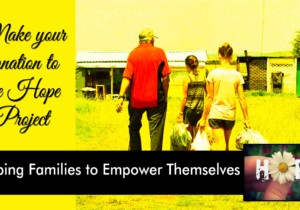 The Hope Project – Helping Families Empower Themselves