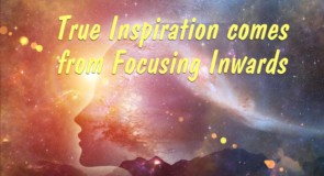True Inspiration Comes From Focusing Inwards by Glynis Brits